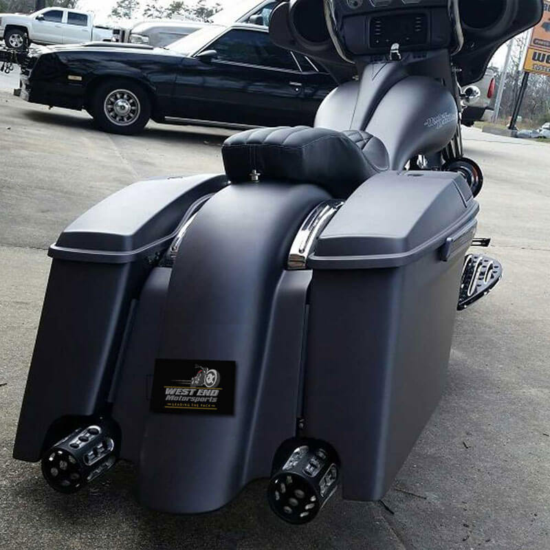 West End Is Delivering Quality Color Matched Extended Saddle Bags At Prices You Cant Beat Stretched Saddlebags For Harley Davidson