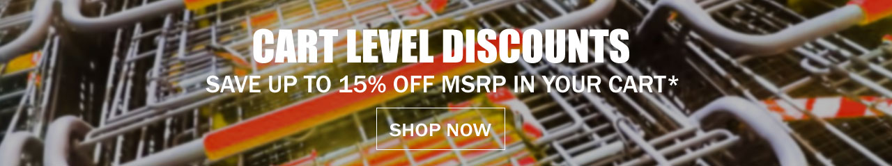 Save Up To 15% Off MSRP